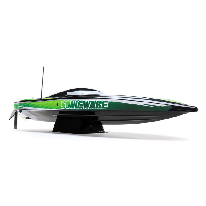"Pro Boat 36"" Sonicwake,Blk, Self-Right Deep-V Brushless RTR"