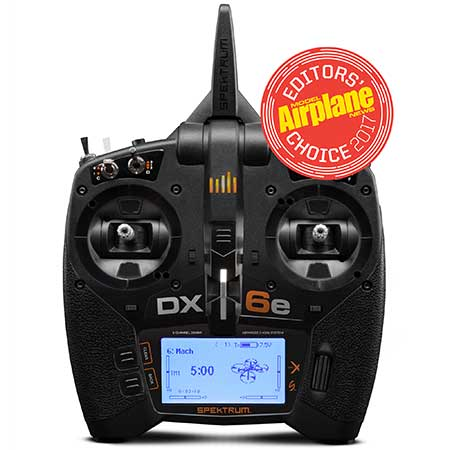 SPMR6650 DX6e 6CH Transmitter Only