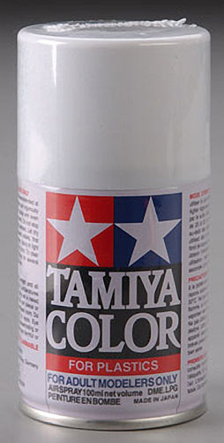 Tamiya 85007 Spray Lacquer TS-7 Racing White