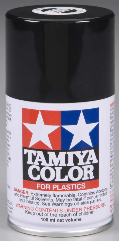Tamiya 85014 Spray Lacquer TS-14 Black