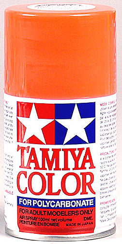 Tamiya 86020 Polycarbonate PS-20 Fluorescent Red