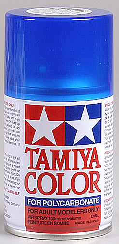Tamiya 86038 Polycarbonate PS-38 Translucent Blue