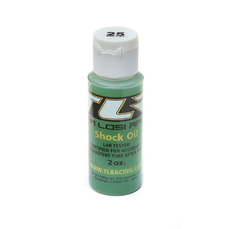 TLR74004 Silicone Shock Oil, 25wt, 2 oz