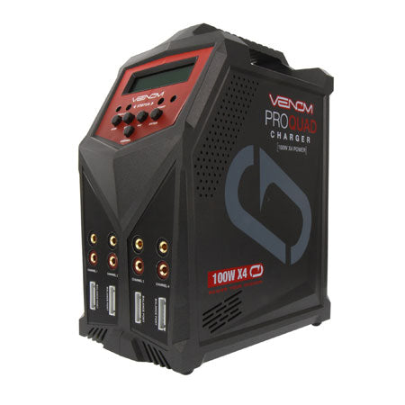 Venom VNR0686 Pro Quad 100W 7A 4-Port AC/DC Battery Charger