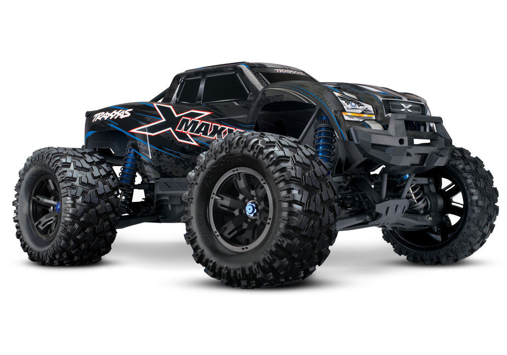 Traxxas X-Maxx: Brushless Electric Monster Truck with TQi & TSM Blue