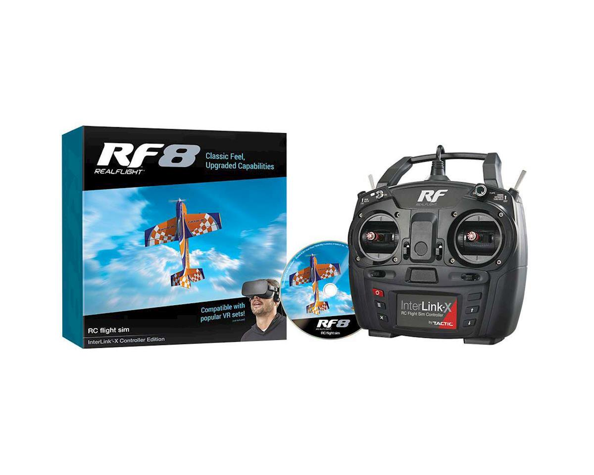 RF8 Real Flight Simulator with Interlink Controller