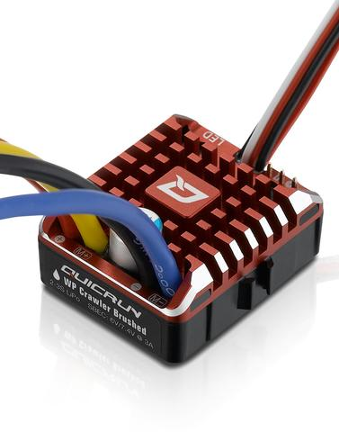 Hobbywing QUICRUN WP 1080 Rock Crawler Brushed ESC, (2-3S)