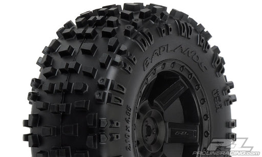 "Badlands 2.8"" All Terrain Tire Mntd on Desperado Black Rr Whl PRO117313"