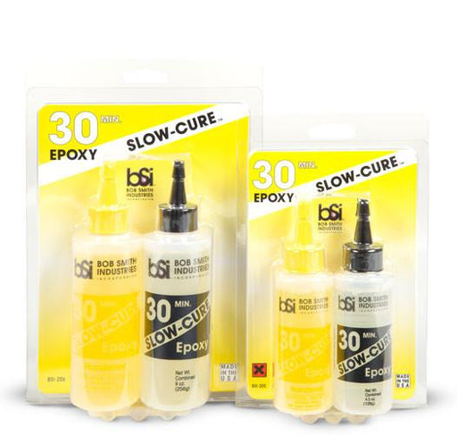 Bob Smith Industries SLOW-CURE 30 MIN. EPOXY 4.5 OZ. | RC Overstock