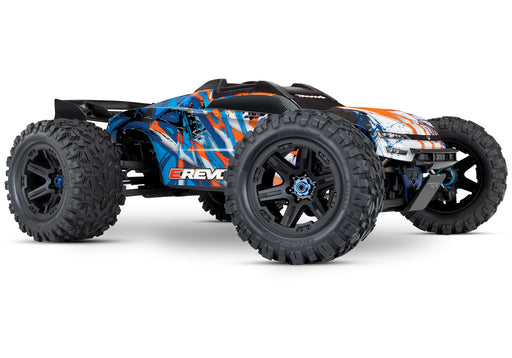 Traxxas E-Revo VXL Brushless:  1/10 Scale 4WD Brushless w/ TQi 2.4GHz & TSM Orange