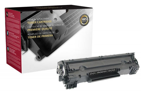 Clover Technologies Group, LLC Remanufactured Toner Cartridge (Alternative for HP CE278A 78A Canon 3483B001AA 126) (2100 Yield)