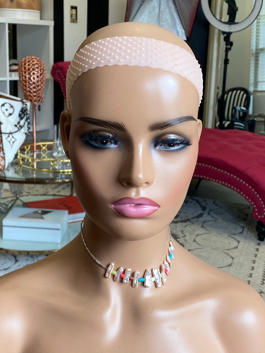 Silicone Wig Grip - Light Pink