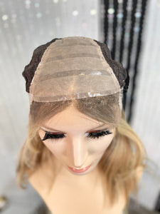 Evelyn Silk Illusion Wig-with silicone cap