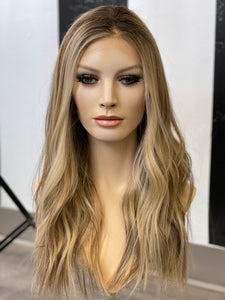 Veronica Silk illusion Gripper Wig