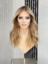 Load image into Gallery viewer, Evelyn Silk Illusion Wig-with silicone cap