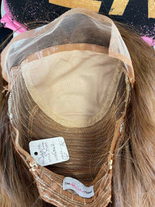 Janine Machine Silk Top Lace Front Wig