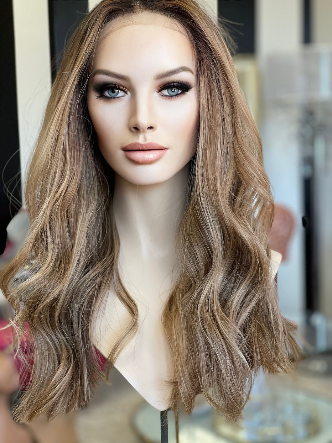 Serena Euro Silk Illusion Wig