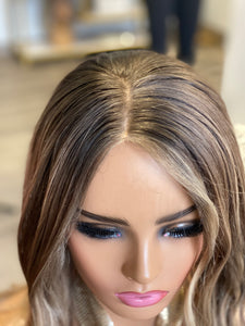 Serena French Drawn Silk Wig