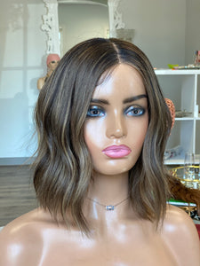 Ada Euro Illusion Wig - with detailed hairline, added silicone, cap adjustment and consult