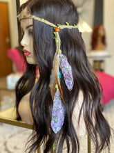 Load image into Gallery viewer, Feather headband - FINAL SALE