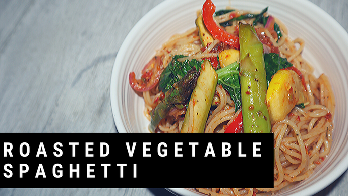 Roasted Vegetable Spaghetti