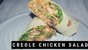 Creole Chicken Salad Wrap