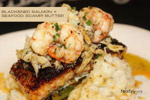 Blackened Salmon + Seafood Scampi Butter (download)
