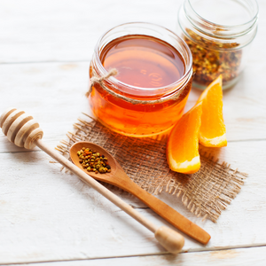 Roasted Mandarin Infused Honey