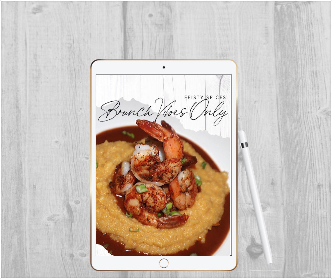 Brunch Vibes Only Digital Cookbook