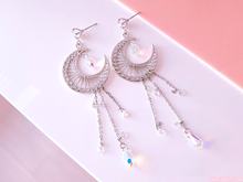 Load image into Gallery viewer, Crying Moon Earrings