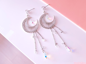 Crying Moon Earrings