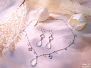 Winterly Imil (Necklace + Earrings)