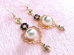 Love Skull (Choker + Earrings)