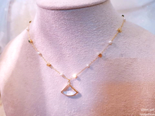Load image into Gallery viewer, Aurora Pearl (Necklace + Earrings)