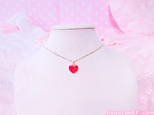 Apple Tart (Necklace + Earrings)