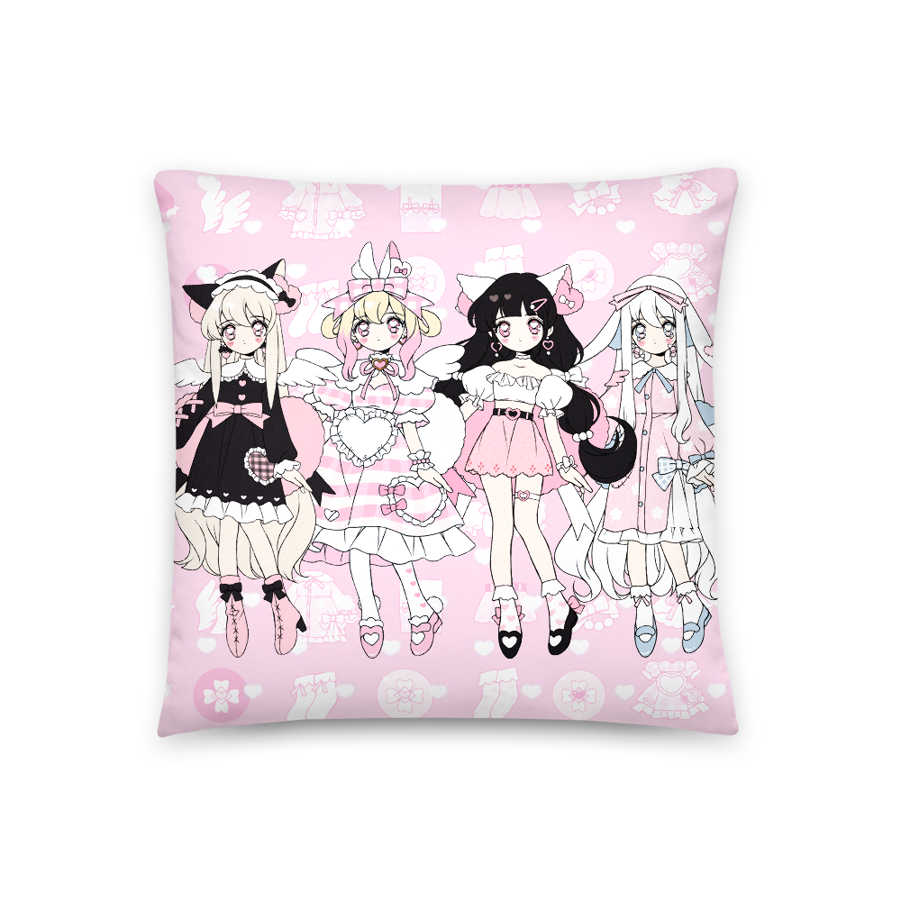 Heartpuff Doll Pillow