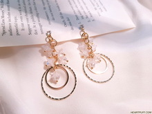 Load image into Gallery viewer, Blooming Eclipse Earrings