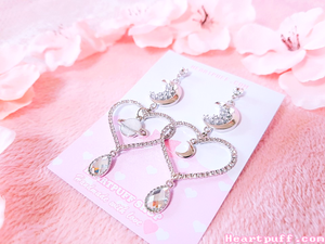 [PREORDER] Sailor Saturn Earrings