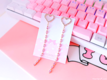 Load image into Gallery viewer, Heart Spill Earrings