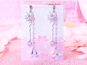 Crystal Pegasus Earrings