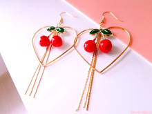 Load image into Gallery viewer, Cherry Delight Earrings