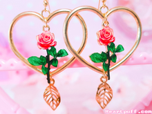 Load image into Gallery viewer, Rose Beauty Earrings