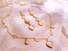 Load image into Gallery viewer, Beloved Moonlight (Necklace + Earrings / 3 Designs)