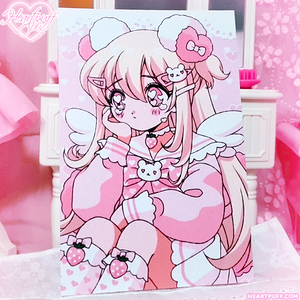 Crying Heartpuff Print