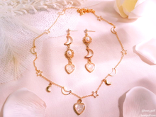 Load image into Gallery viewer, Beloved Moonlight - Necklace & Earrings