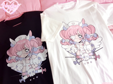 Load image into Gallery viewer, Heartpuff Nurse Bunny T-Shirt