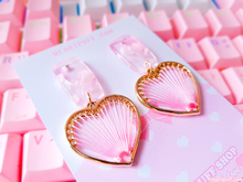 Load image into Gallery viewer, Heart Strings Earrings
