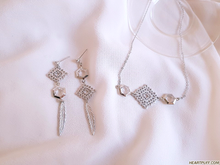 Load image into Gallery viewer, Lucid Dream (Earrings + Necklace)