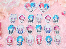 Load image into Gallery viewer, Re:ZERO Girls Sticker Pack of 20