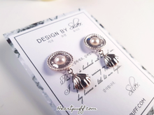 Load image into Gallery viewer, Silver Melody Earrings